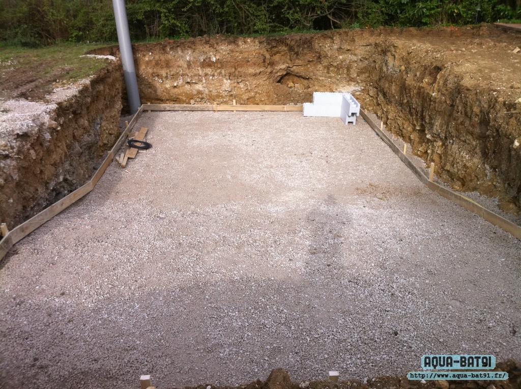 Piscine beton avec liner aqua bat91 for Piscine beton liner